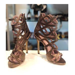 HERVE LEGER sandals NEW